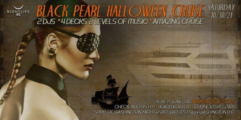 Black Pearl DC Halloween Party Cruise 2021