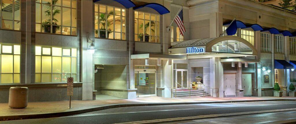 Iconic Hilton Portland Downtown Hotel