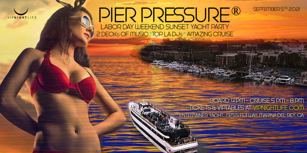 Labor Day Sunday Party Cruise Los Angeles