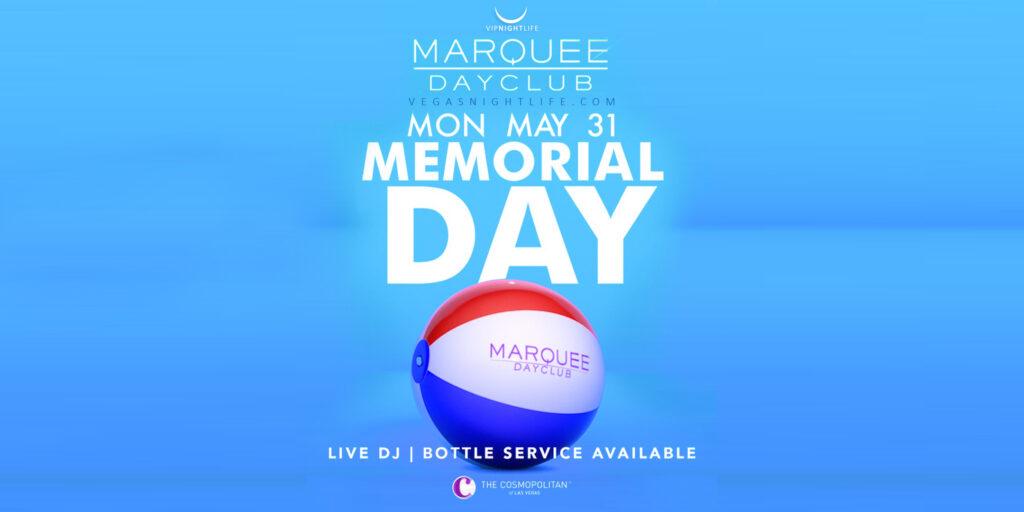 Marquee Las Vegas Memorial Day Pool Party