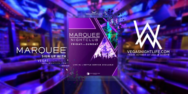 Marquee Nightclub | Alan Walker