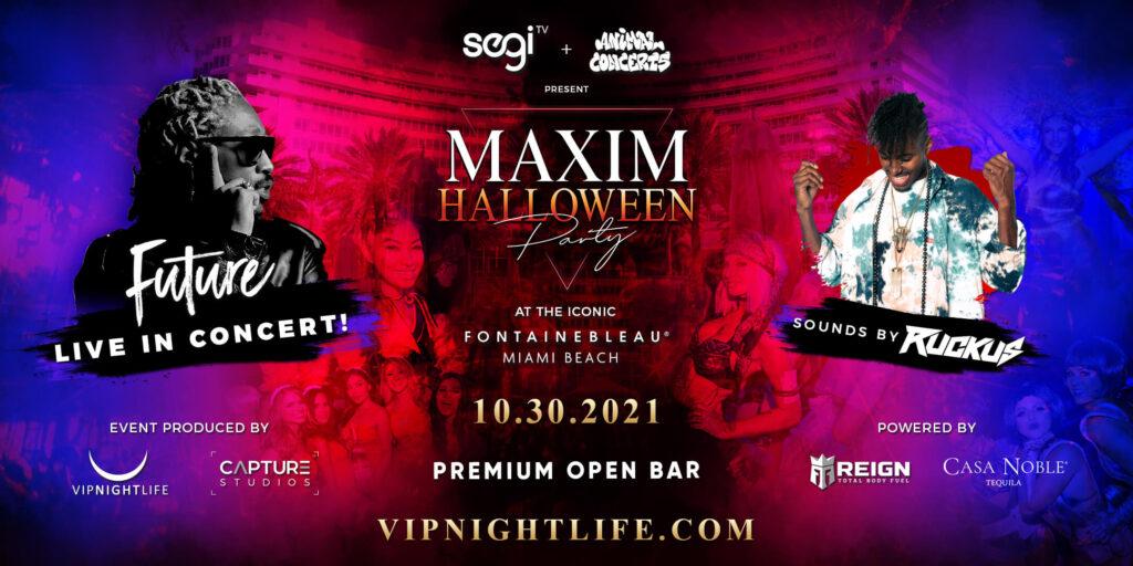 Maxim Halloween Party - Miami