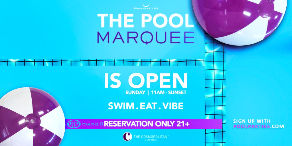 Memorial Day Sunday Pool Party | Marquee Las Vegas