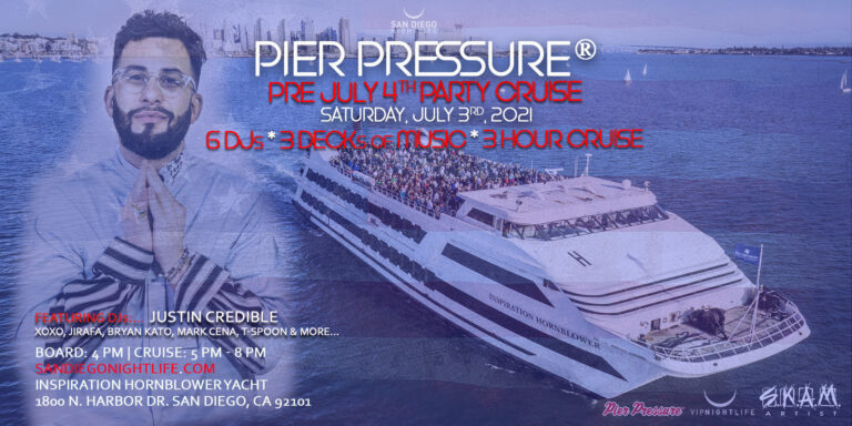 San Diego Pre-July 4th Yacht Party 2021