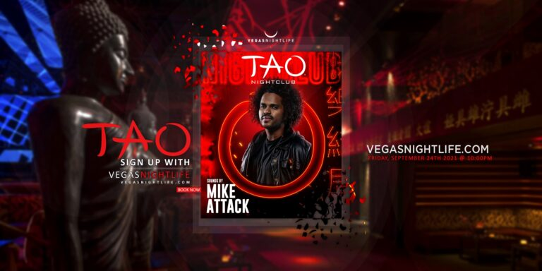 TAO Nightclub Friday | DJ Mike Attack