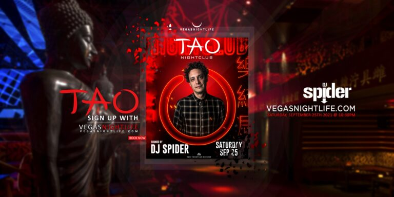 TAO Nightclub Saturday | DJ Spider